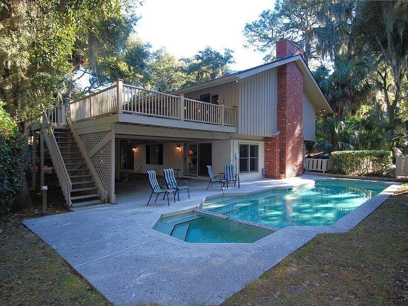 Pool Area - South Beach Lane 4 - Hilton Head - rentals