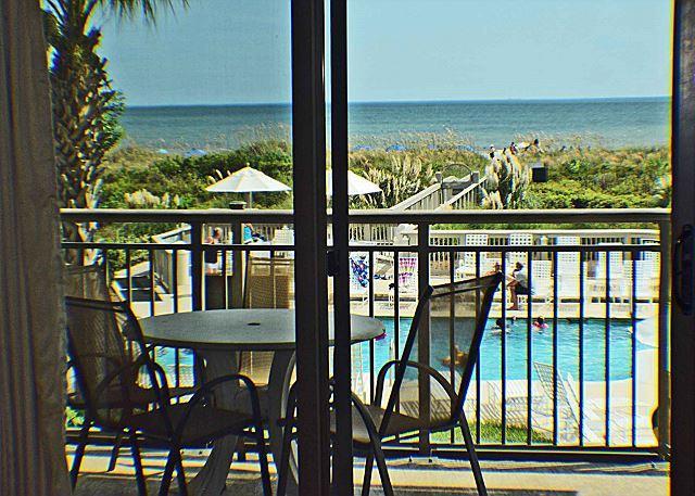 Ocean One 211 - Oceanfront 2nd Floor Condo - Image 1 - Hilton Head - rentals