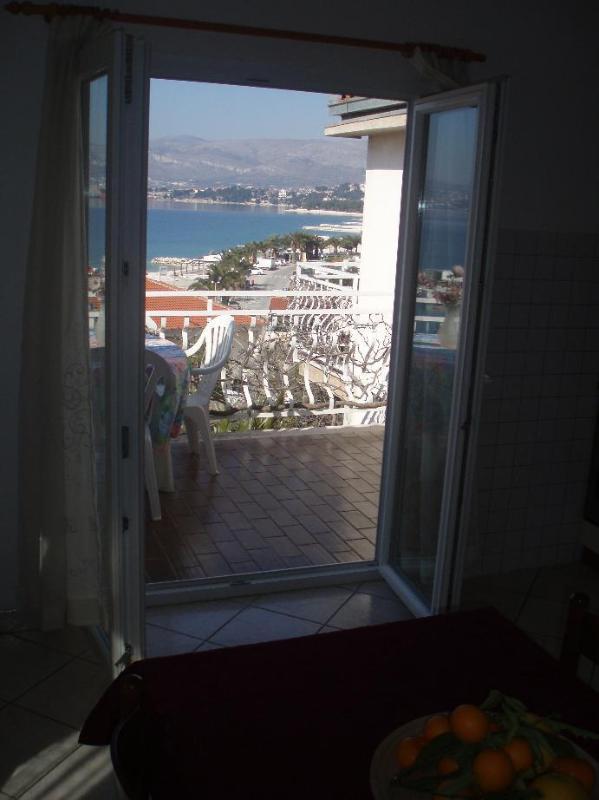 A5(4): terrace - 5121  A5(4) - Okrug Gornji - Okrug Gornji - rentals