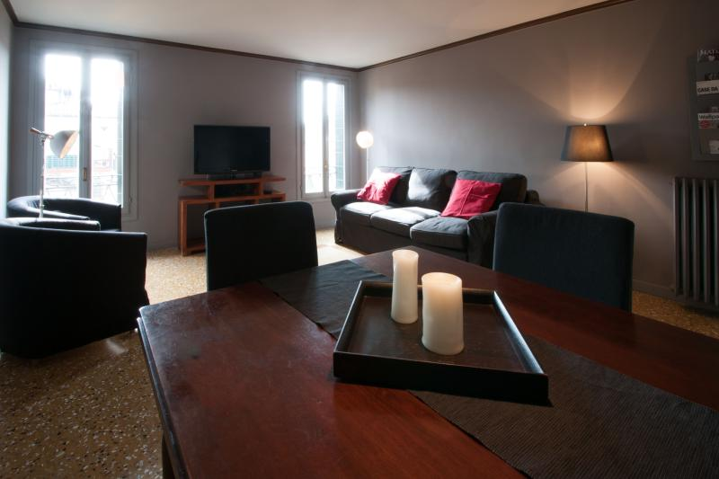 Living Room - San Moisè Lounge Apt - Just 150mt from ST.MARK'S! - Venice - rentals