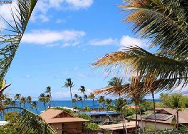Partial Ocean View from Maui Vista #1418 - 2B/2Ba Ocean View Unit, Perfectly Situated 100 Yards from Kamaole Beach I - Kihei - rentals