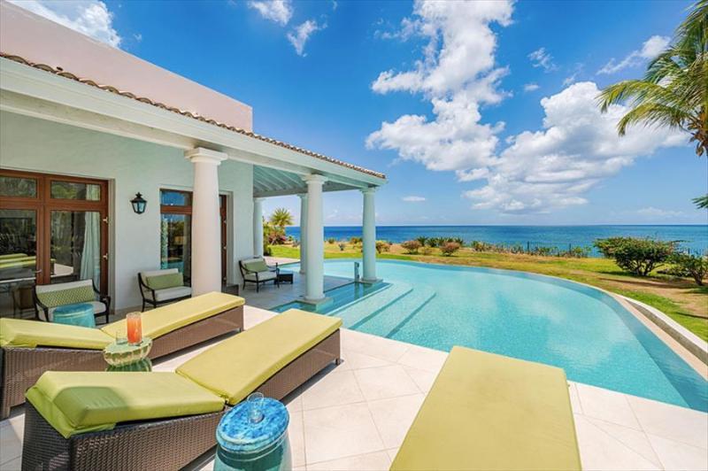 Tiaris - La Samanna Villas at Terres Basses, Saint Maarten - Oceanfront, Pool - Image 1 - Terres Basses - rentals
