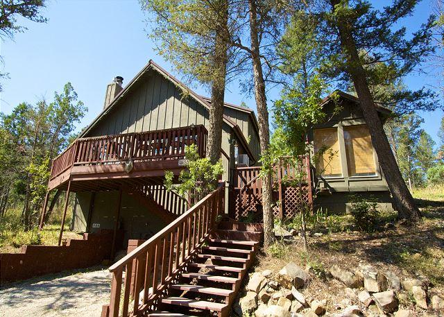 Antler Crossing is a great cabin surrounded by wildlife and trees. - Image 1 - Ruidoso - rentals