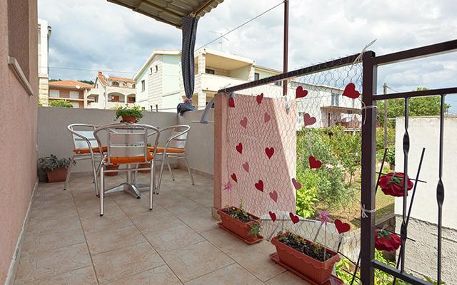 A1(2): covered terrace - 2855  A1(2) - Stari Grad - Stari Grad - rentals
