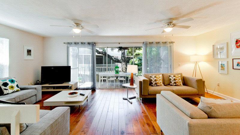 Living Room 2 - North Beach Village Unit 72 - Holmes Beach - rentals