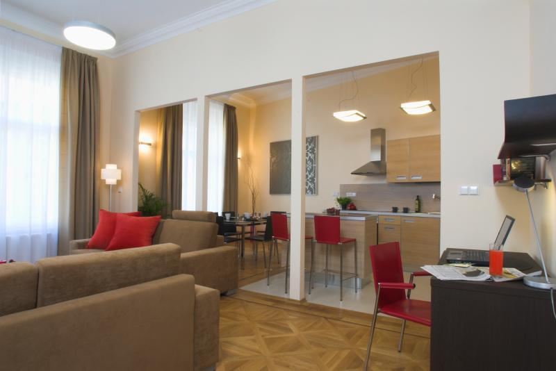 Karolina 2bedroom apt., close the National Theatre - Image 1 - Prague - rentals