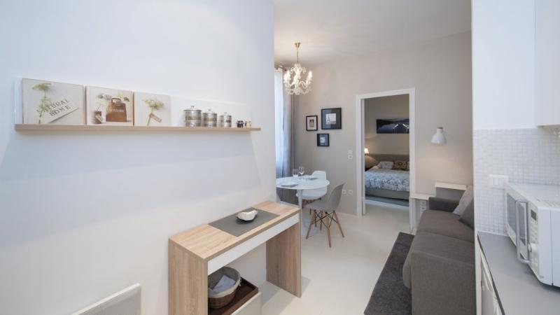 Entrance - 933 One bedroom   Paris Le Marais district - Paris - rentals
