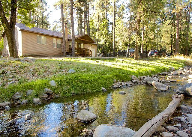 A Whispering River located right on the river will be an unforgettable stay!! - Image 1 - Ruidoso - rentals