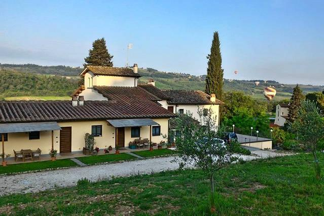 Holiday house with pool : Canaiolo - Image 1 - San Casciano in Val di Pesa - rentals