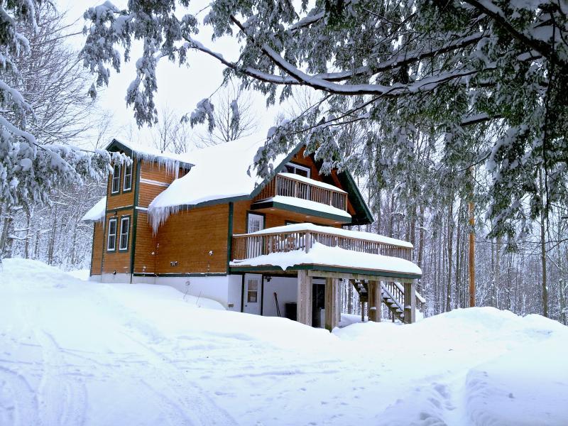 Alpine Cottage Built 1964 - Frontage. - 3 Bedroom Cottage Near Jay Peak Resort - Jay - rentals