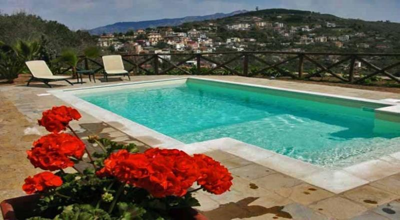 01 Villa Amore pool area - VILLA AMORE - Sant'Agata - Sorrento area - Massa Lubrense - rentals