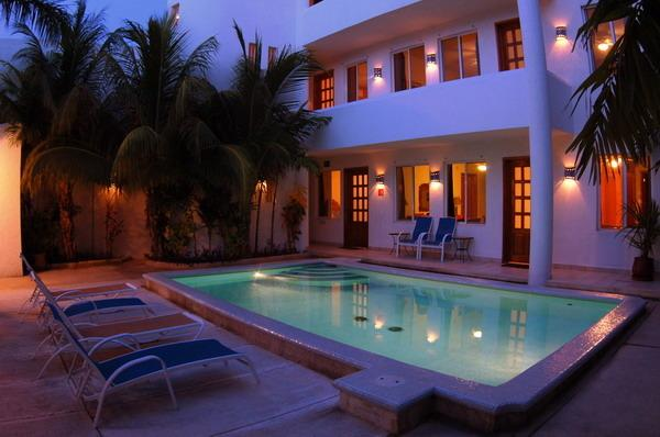 Hotel Villas Deja Blue Cozumel - Villas Deja Blue Hotel & Restaurant Cozumel Mexico - Cozumel - rentals