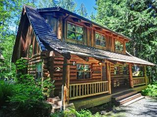 Bear Den Log Cabin, classic family getaway, walk to Salmon River. Dogs ok. - Welches vacation rentals