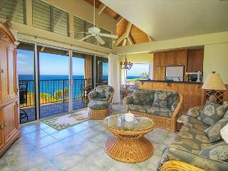 Pali Ke Kua #246: Ocean and sunset views from your own private - Princeville vacation rentals