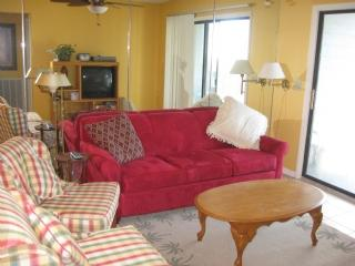Living Room - Oak Island Villa 1204 - Caswell Beach - rentals