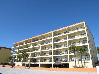 Las Brisas 202 - Gulf Front three bedroom, two bath condo with pool & BBQ - Madeira Beach vacation rentals
