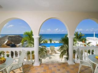 6 BR Beachfront Villa on San Francisco  Beach, directly on the  beach !!!!! - Cozumel vacation rentals