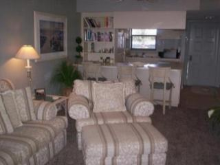 Living area - SUPER Updated 2 bedroom Condo with waterfront views!  Close to Town - Marco Island - rentals