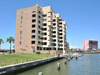 Landfall #66- Comfortable condo right on the Bay. Patio conversion to sunset sitting room. Bring your boat! - Port Isabel vacation rentals