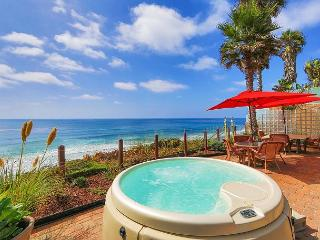 Oceanfront Rental, Large patio, private spa, all amenities included - Encinitas vacation rentals