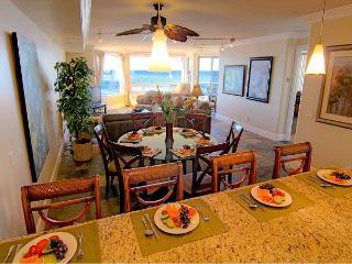 Luxury Oceantfront Condo, 5br/4ba, Spa, Huge Kitchen, P908-2 - Oceanside vacation rentals