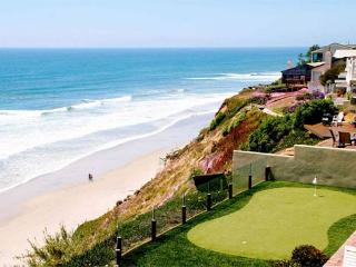 Oceanfront Retreat, 5br, 5ba, private putting , oceanfront patio, private spa - Encinitas vacation rentals