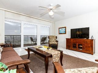 Condo #6003:UPDATED in JANUARY 2014 beachfront condo- WiFi,FREE BEACH SERVICE - Fort Walton Beach vacation rentals