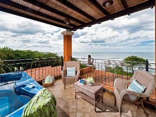 Beautiful oceanview condo- jacuzzi, balcony, kitchen, internet, a/c, TV - Tamarindo vacation rentals