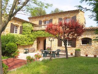 French Riviera Villa Rental near Grasse - Le Mas de Valerie - Claviers vacation rentals