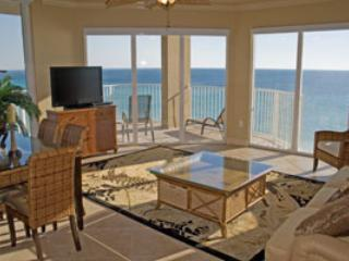 Beautiful Wrap Around Balcony Surrounds 3 Bedroom at Tidewater - Image 1 - Panama City Beach - rentals