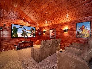 5 Bedroom Gatlinburg Cabin Rental with Home Theater Room - Gatlinburg vacation rentals