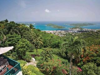 This grand Caribbean mansion has a fabled past: the former haunt of the celebrated and glamorous. MA KYA - Mandahl Peak vacation rentals