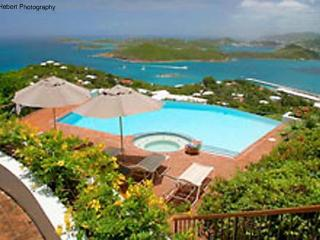 Unique, luxury mansion in prestigious neighborhood on over 2 acres of scenic hilltop. MA VEN - Saint Thomas vacation rentals