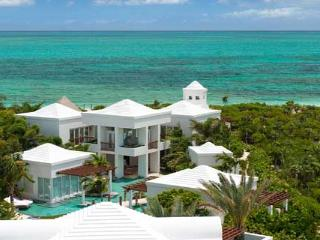 Striking architectural masterpiece on 2 landscaped acres of Grace Bay beachfront property. TNC TBZ - Grace Bay vacation rentals