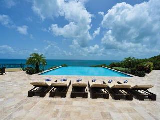 Neoclassical island retreat within Terres Basses- Caribbean Sea views. C BLA - Pelican Key vacation rentals