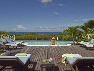 Hillside villa with guest house and a large poolside terrace. C JET - Pelican Key vacation rentals