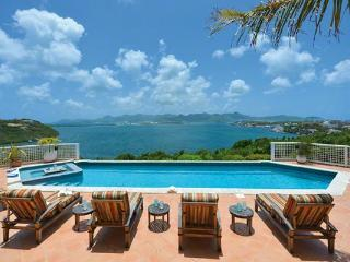 Spectacular Simpson Bay, Marigot and Ocean views from all parts of this villa. C TRG - Saint Martin-Sint Maarten vacation rentals