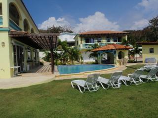 Pool area - Villa Playa Maria - Tropical Beachfront Paradise - Rincon - rentals