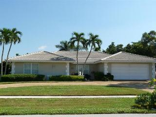 Secluded house with private lanai, two master suites, heated pool and hot tub - Marco Island vacation rentals