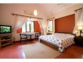 The Bedroom - CASA MIA,  The Large, Comfortable Beach Apartments - Calangute - rentals