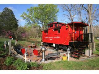 1926 C&O Caboose - Rockbridge Baths vacation rentals