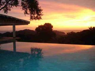 sunset from Villa Hermosa - Finca Las Nubes  All inclusive  Villas and Center - San Juan del Sur - rentals
