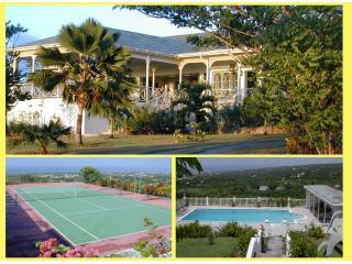 Utmost Privacy in 2 acres,  panoramic sea views - Nevis vacation rentals