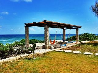 Sea Gate, oceanfront villa located in the heart of Akumal - Akumal vacation rentals
