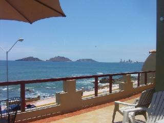 View of the islands from the terrace - Level 2 - Oceanfront! 2-8 Bedrooms- Small or Large Groups! - Mazatlan - rentals