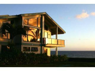sunset reflecting off of luxurypoipu - All Oceanfront Luxury at LuxuryPoipu - Poipu - rentals