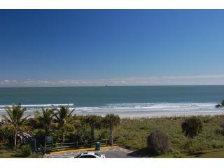 Your Exquisite Ocean View from the balcony - Romantic, OceanFront, pool, tennis, WiFi - Cape Canaveral - rentals