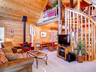 3 BR/2.5 BA, unique private log cabin home for 8, private hot tub, pets friendly - Dillon vacation rentals