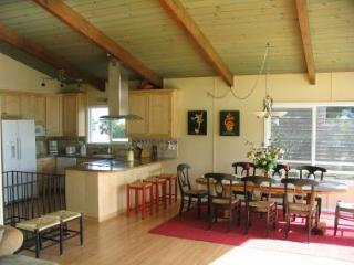 Nicely decorated 4-bedroom beach house close to ocean with views and ocean sounds - Aptos vacation rentals
