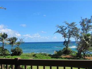 Kaha Lani Resort #224-OCEANFRONT 2 BR, end unit - Kapaa vacation rentals